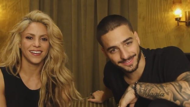 Shakira ft Maluma